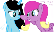 Violett and Naughty Boop