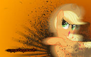Applejack wallpaper by vexx3-d4xdzm9