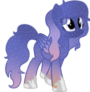 Dusk the lovely and starry dark sky oc from Sweetiebelle by rainy
