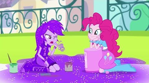 "MLP- Equestria Girls - Rainbow Rocks ""Al Ritmo de Pinkie"" -Español Latino-"