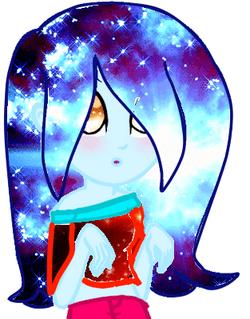 Adoptable166 (kawaii galaxy anime eyed girl)