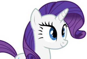 Rarity smiling by whifi-d46nepe