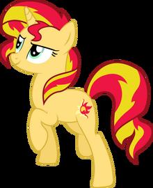 500px-Sunset Shimmer Pony