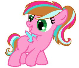 Excited pegasus base 3 by spirit ponybases-d632jip