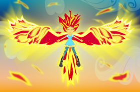 Like a phoenix bright in the sky by amante56-d8nygnt