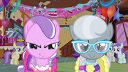 Diamond Tiara and Silver Spoon pounce s01e12