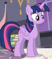 Twilight sparkle alicornio