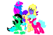 Breeze galaxy y sus amigas
