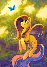 Fluttershy by pinali-d4m7pz8