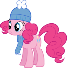 Pinkie Pie Hearth's Warming Eve Card Creator