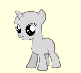 Filly base 4 by equine bases-d4ysqap