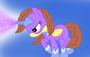 Clever wit Power Pony