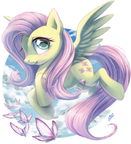 Fluttershy by draggincat-d6ool2n