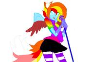 Nichi fox rainbow rocks