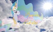 Princess celestia wallpaper by invader alexis2-d58g0dz