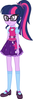 Twilight sparkle scitwi eg new oufit by kingdark0001-da300je