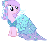 Mlp base the princess dress by twittershy-d99fs9x