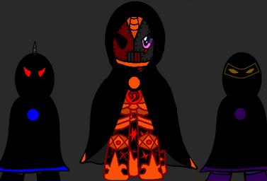 Lord Enfer, Lucius y Nightshoud