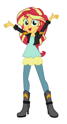 Sunset shimmer friendship through the ages by mixiepie-d8nz3i0