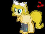 Kagamine pony v rin mlp fim style vector by baraniruchu-d4zwi5y