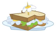 Sandwich de margarita