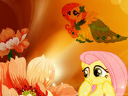 Fluttershy wallpaper ^ ^
