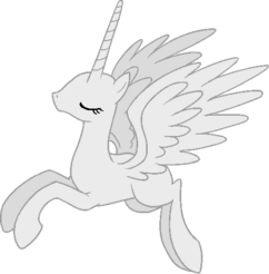 Alicorn base 1 by applexsweet-d6uk8yv
