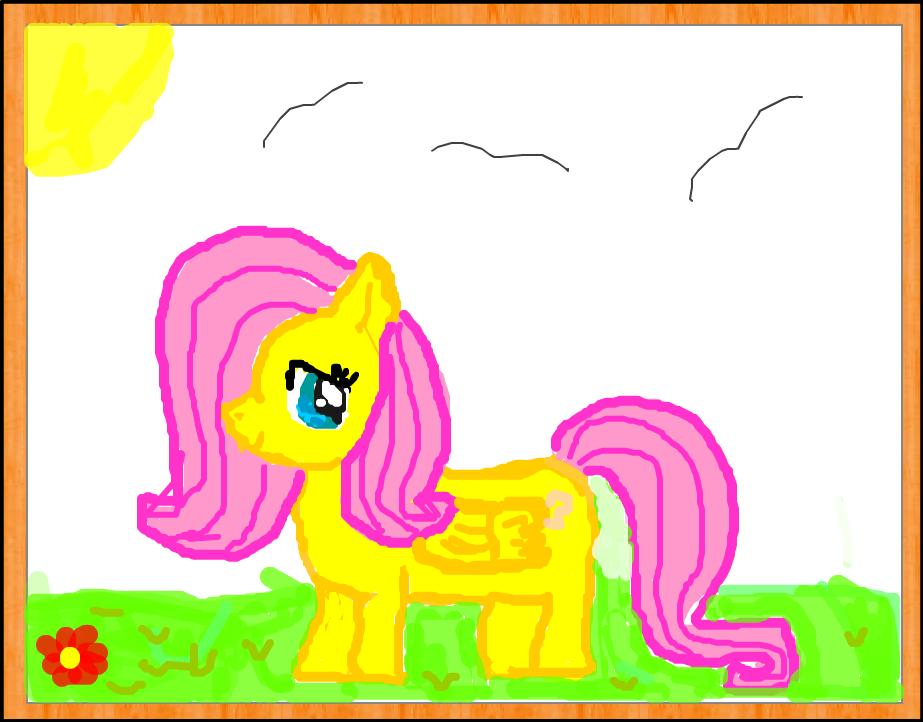 Imagen - Dibujo de Fluttershy.png | Wiki Mi Pequeño Pony: Fan Labor ...
