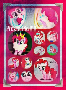 Collage Pinkie Pie