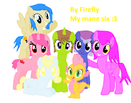 My nuevas mane six