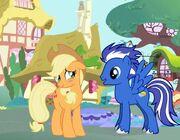 Applejack & Silver Hooves 3