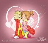 Alvin y brittany