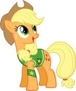 Applejack en Winter Wrap up