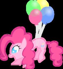 Balloon pinkie by kalleflaxx-d4zfxtv