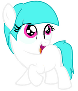 Cotton Heart - filly - hi!