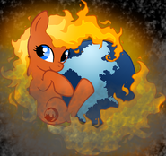 Firefox pony wallpaper