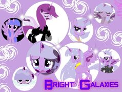 Bright Galaxies Collage
