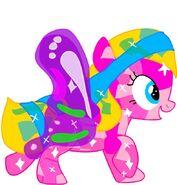Melody, crystal pony