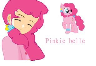 Dibujo Pinkie belle