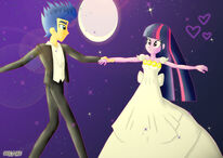 Twilight x flash sentry dance in the full moon by dieart77-d99510n