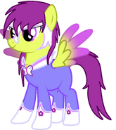 Butterfly Power Pony