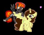 Loony Colt y Akira