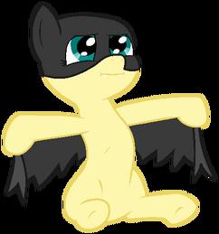 My little pony base 17 batmare by drugzrbad-d5lnd8l