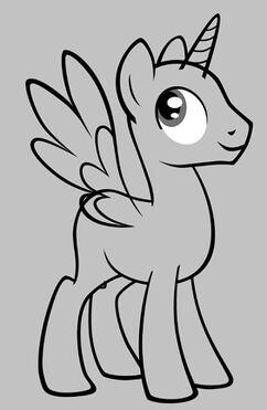 My little pony stallion base model edited by lissy strata-d4ygxqt