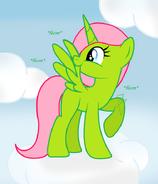R pepper mint loves her wings by go0re-d7iq487