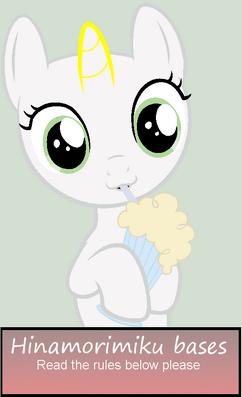 Mlpbase filly milkshake by hinamorimiku-d5mfocg