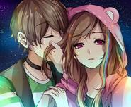 Hyu y Marie uwu