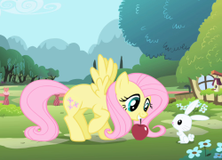 250px-Fluttershy opening theme