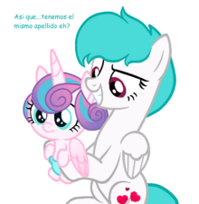 So we have the same last name uh mlp base i got the ugliest shiningdence foal ever by bitchbases-d9zsr95