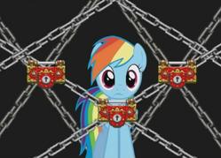 Los Psicocandados de Rainbow Dash